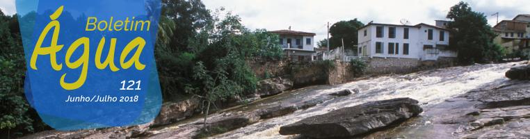Rio Lençóis em Lençóis (BA) - Zig Koch / Banco de Imagens ANA