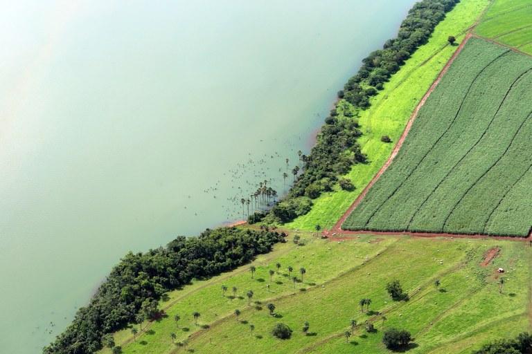 Rio Grande em Igarapava (SP) - Raylton Alves / Banco de Imagens ANA