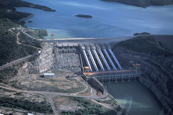 Hidrelétrica de Xingó (AL/SE) - Zig Koch / Banco de Imagens ANA