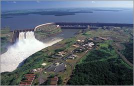 Hidrelétrica de Itaipu (PR) - Zig Koch / Banco de Imagens ANA