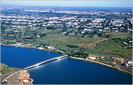 Lago Paranoá (DF) - Zig Koch / Banco de Imagens ANA