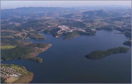 Represa Atibainha (SP) faz parte do Sistema Cantareira - Tomás May / Banco de Imagens ANA