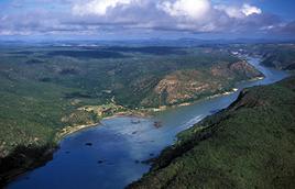 Rio São Francisco próximo a Xingó (AL) - Zig Koch / Banco de Imagens ANA