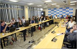 Reunião sobre projeto de monitoramento de açudes no Semiárido