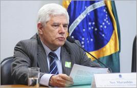 Ney Maranhão em sabatina no Senado - Pedro França / Agência Senado