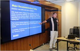 Reunião de especialistas do USGS com brasileiros - Raylton Alves / Banco de Imagens ANA