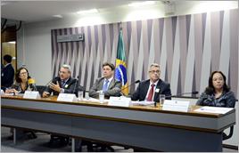 Audiência pública no Senado sobre rompimento da barragem em Mariana (MG) - Pedro França / Agência Senado