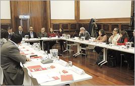 Reunião em Montevidéu - Clara Belda / Centro de Formação da Cooperação Espanhola em Montevidéu