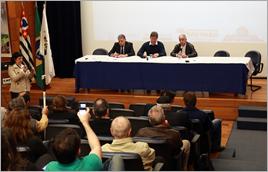 Reunião para apresentação das propostas de renovação do Cantareira em Campinas (SP) - Raylton Alves / Banco de Imagens ANA